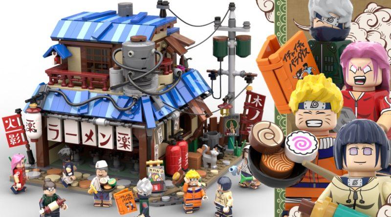 LEGO Ideas Naruto Ichiraku Ramen Shop 20th anniversary featured