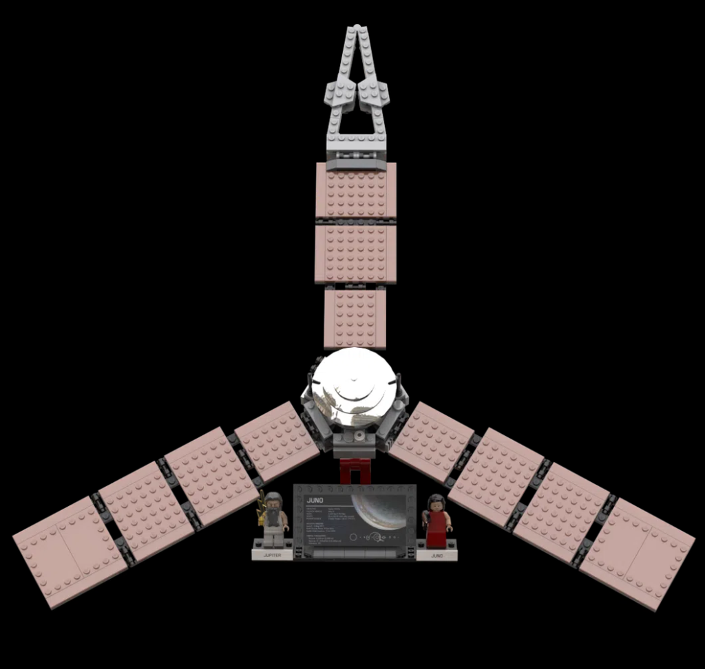 LEGO Ideas Outer Solar System Explorers 2