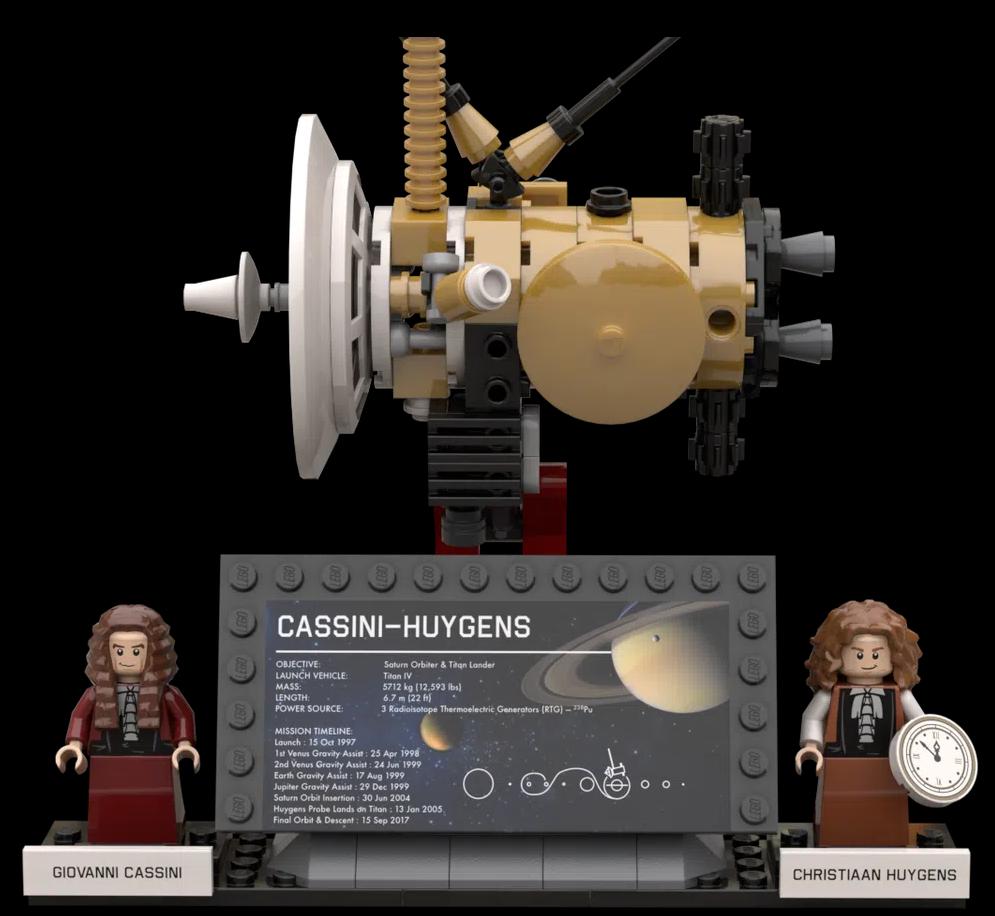 LEGO Ideas Outer Solar System Explorers 3