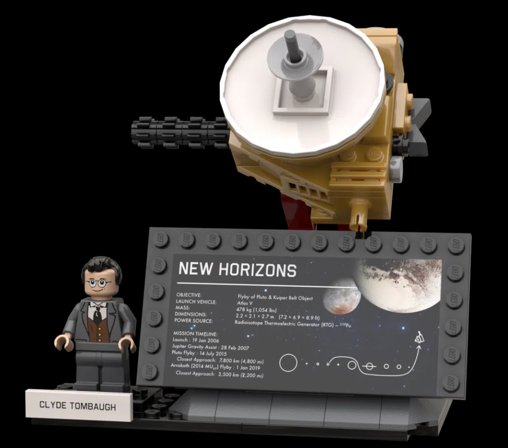 LEGO Ideas Outer Solar System Explorers 4