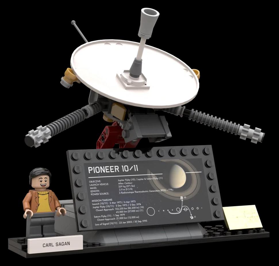 LEGO Ideas Outer Solar System Explorers 6