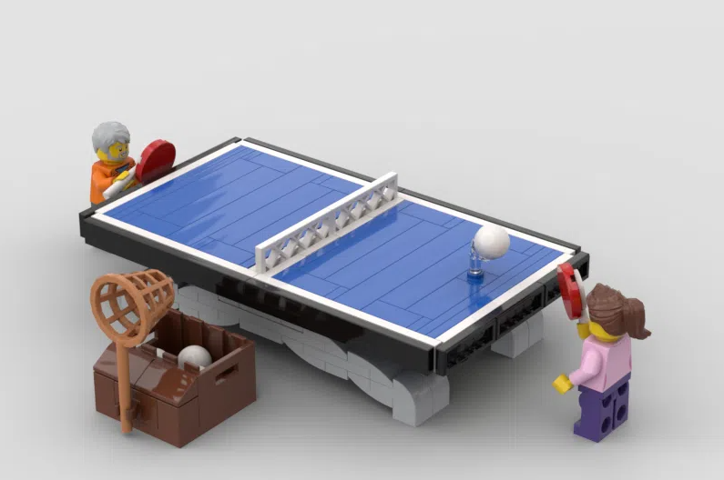 LEGO Ideas Ping Pong match