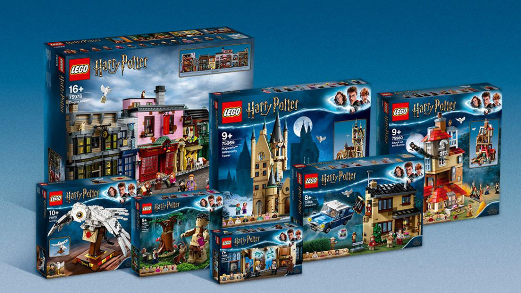 LEGO Ideas Potter Prizes