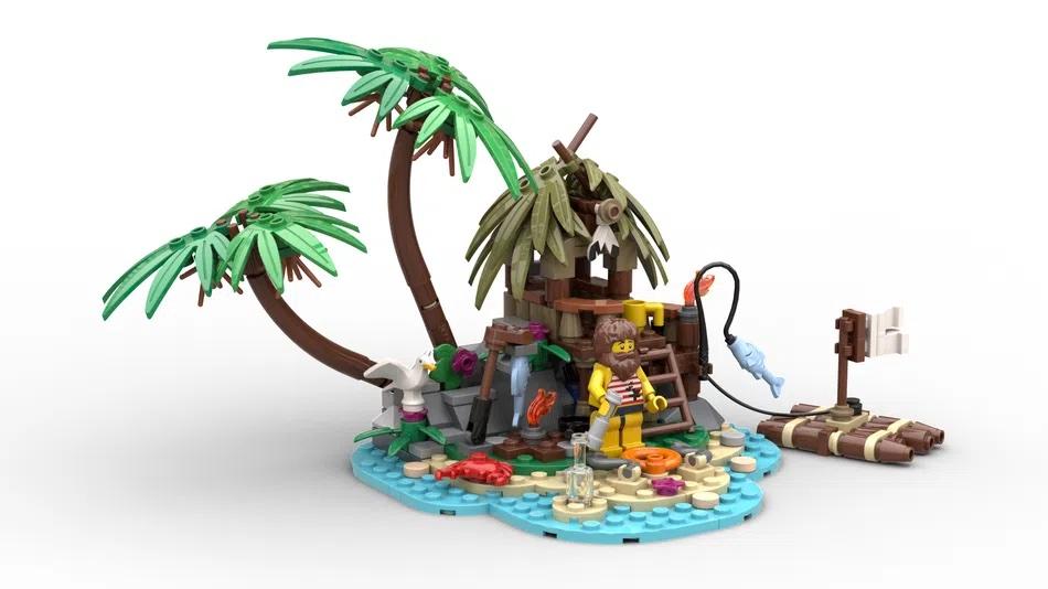 LEGO Ideas Ray The Castaway