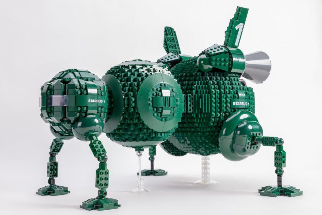 LEGO Ideas Red Dwarf Starbug 1