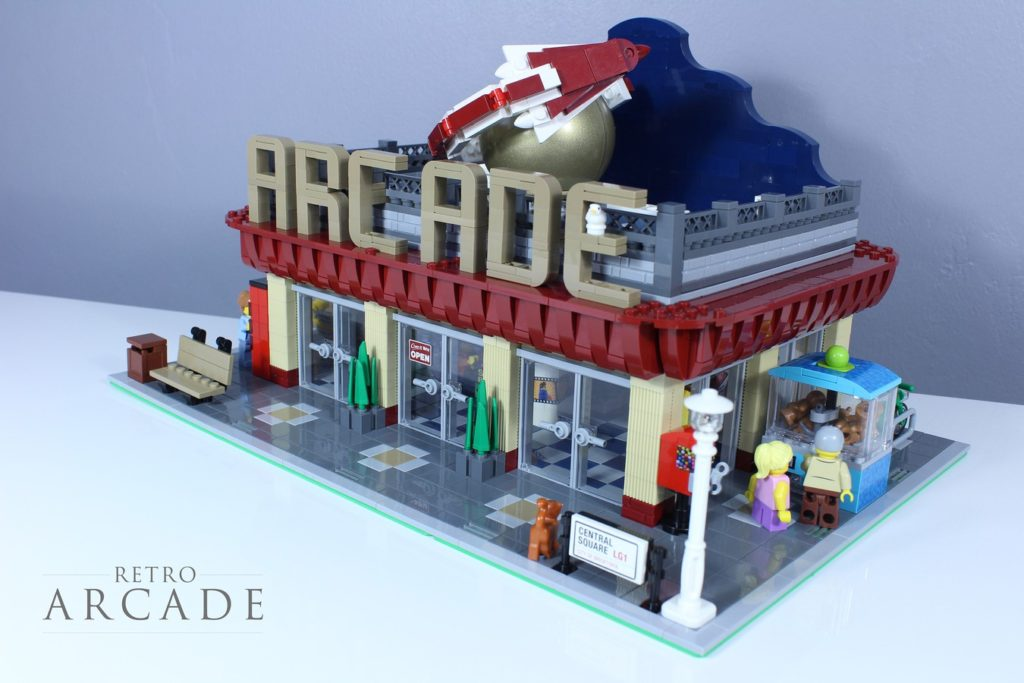 LEGO Ideas Retro Arcade 1
