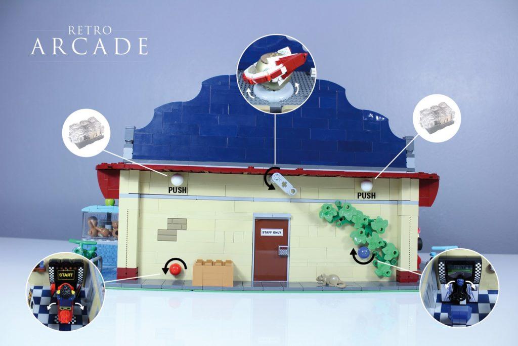 LEGO Ideas Retro Arcade 3