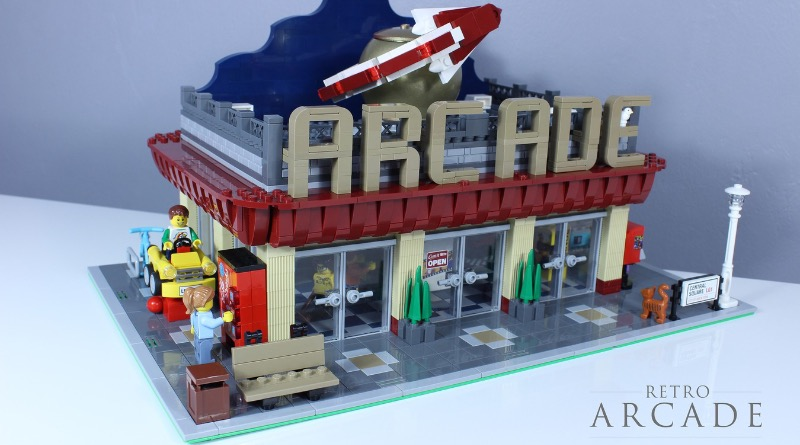 LEGO Ideas Retro Arcade Featured