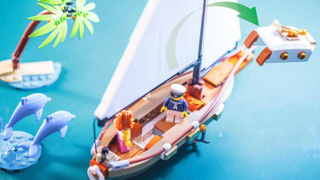 LEGO Ideas Sailing Ship Adventure 3