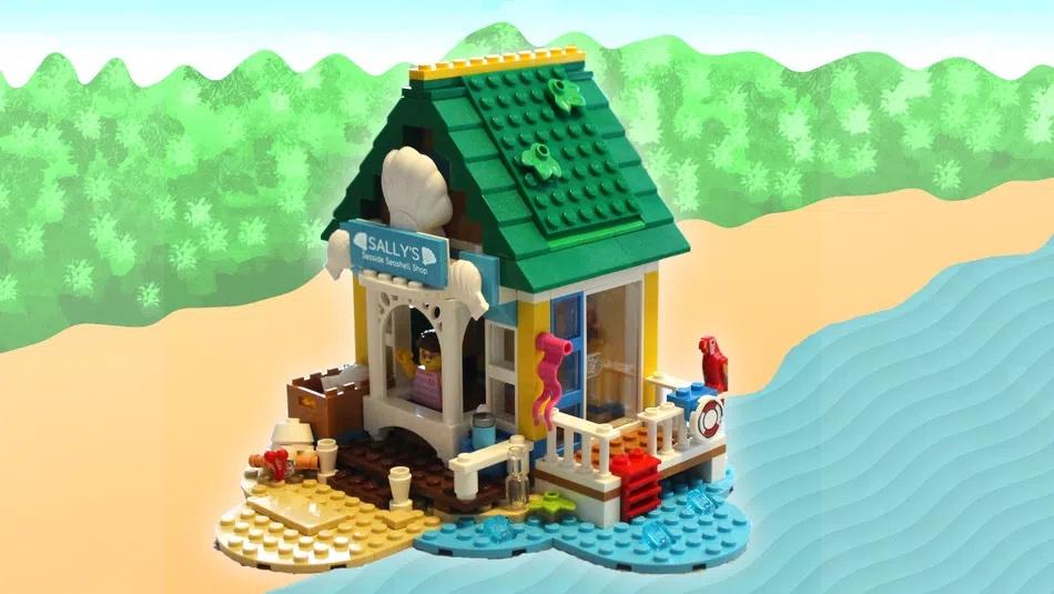 LEGO Ideas Sallys Seaside Seashell Shop