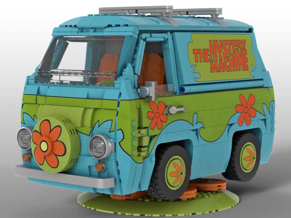 LEGO Ideas Scooby Doo Mystery Machine 1