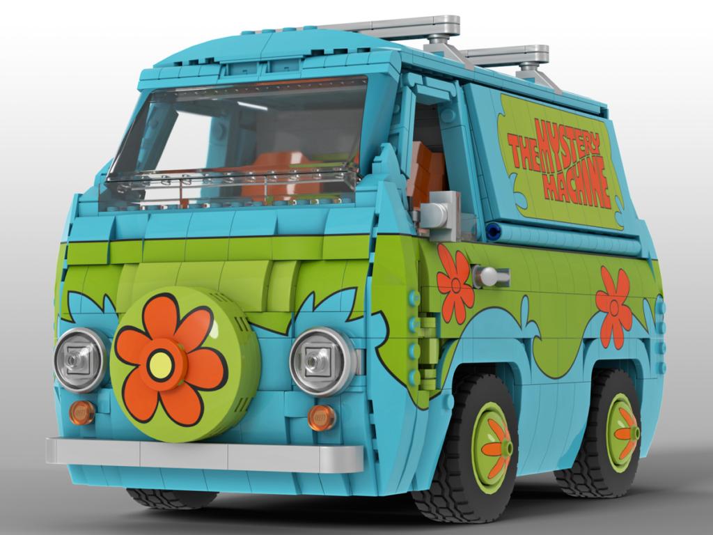 LEGO Ideas Scooby Doo Mystery Machine 3