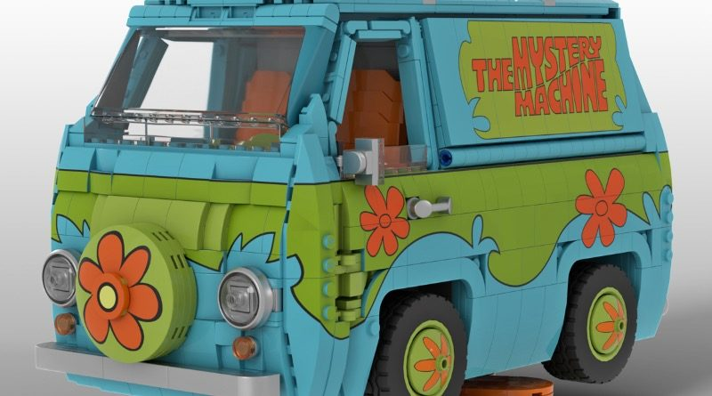 LEGO Ideas Scooby Doo Mystery Machine featured