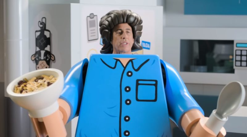 LEGO Ideas Seinfeld recreated life sized Netflix featured