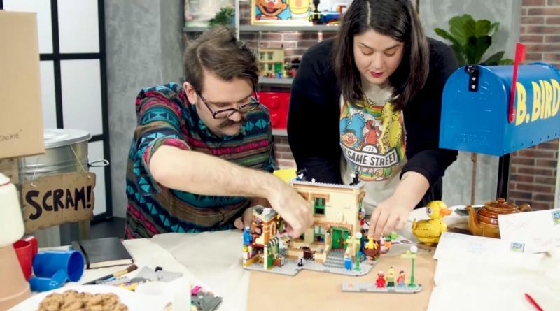 LEGO Ideas Sesame Street Designer Video Featured