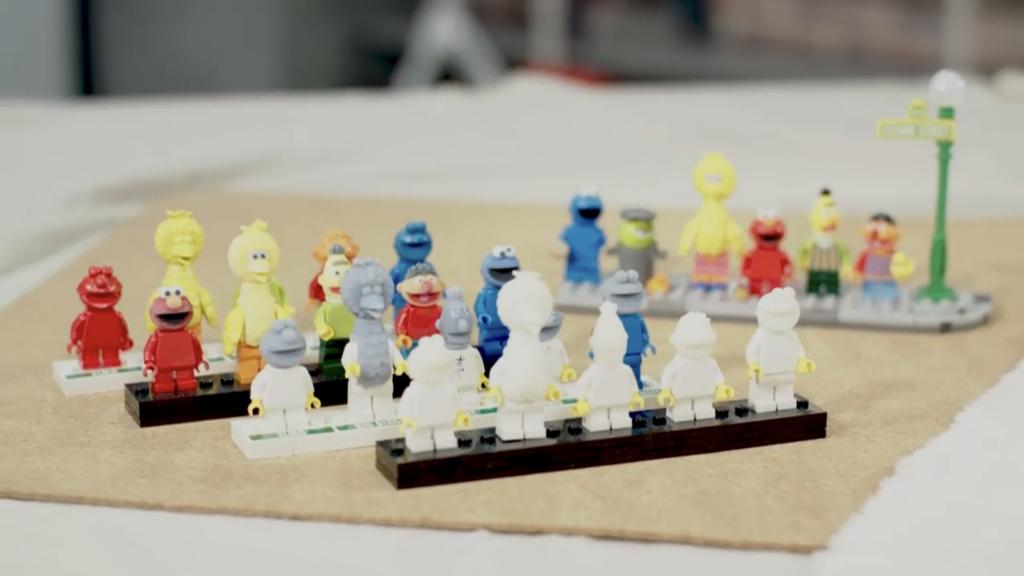 LEGO Ideas Sesame Street Moulds