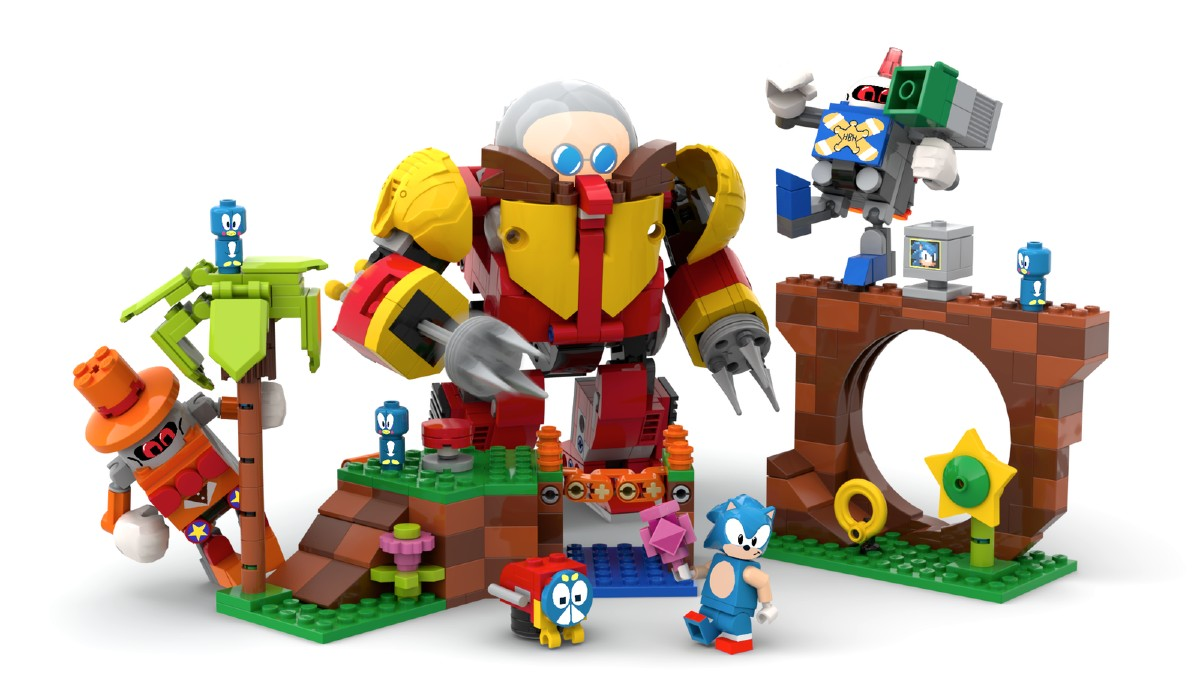 LEGO Ideas Sonic Mania Green Hill Zone Project Resized Featured