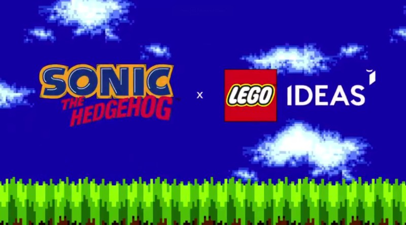 LEGO Ideas Sonic Logo Featured