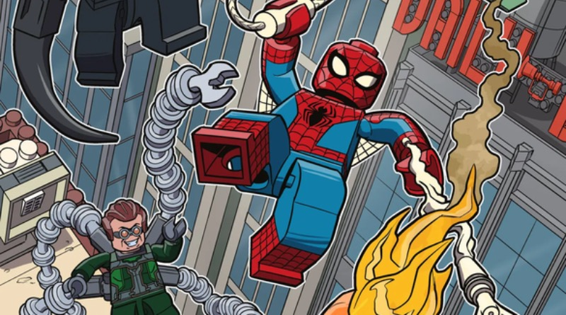 LEGO Ideas Spider Man Comic Book Contest Winner Art Featured
