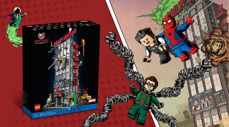 LEGO Ideas Spider Man Comic Book Cover Contest Featured