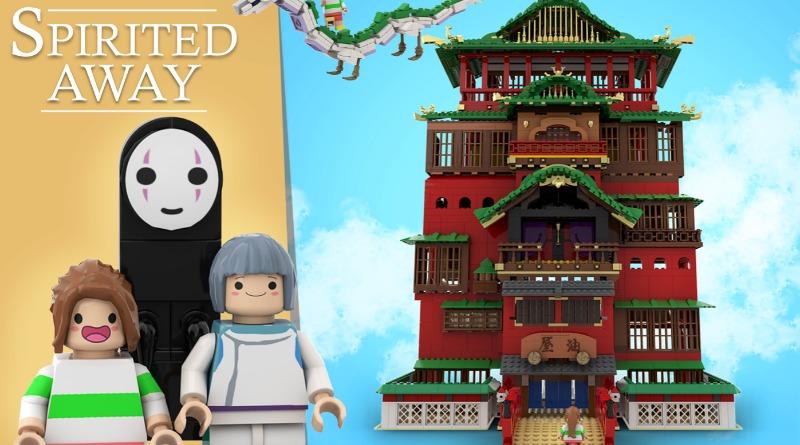 LEGO Ideas Spirited Away Featured