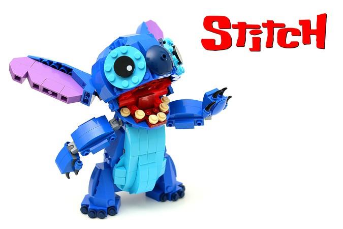 LEGO Ideas Stitch