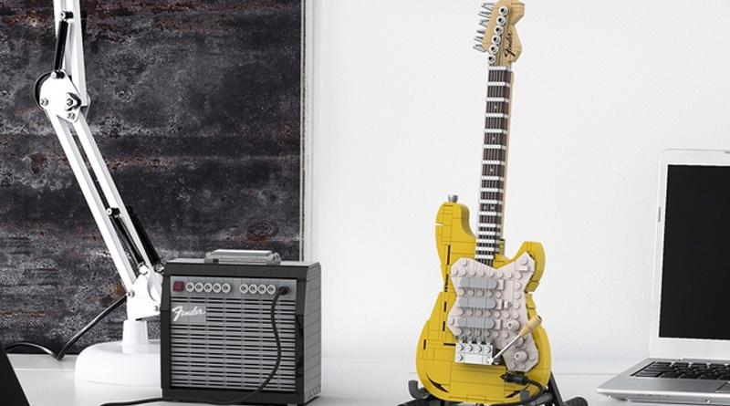 LEGO Ideas Legendary Stratocaster officially announced