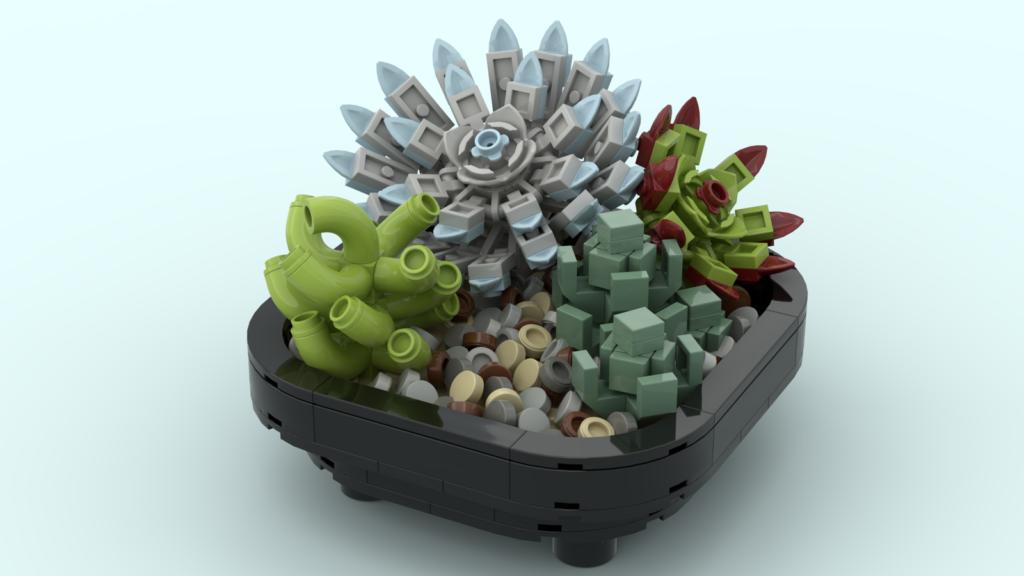 LEGO Ideas Succulent Garden 1