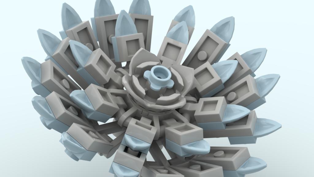 LEGO Ideas Succulent Garden 2