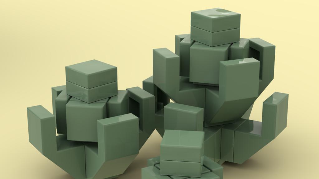 LEGO Ideas Succulent Garden 3