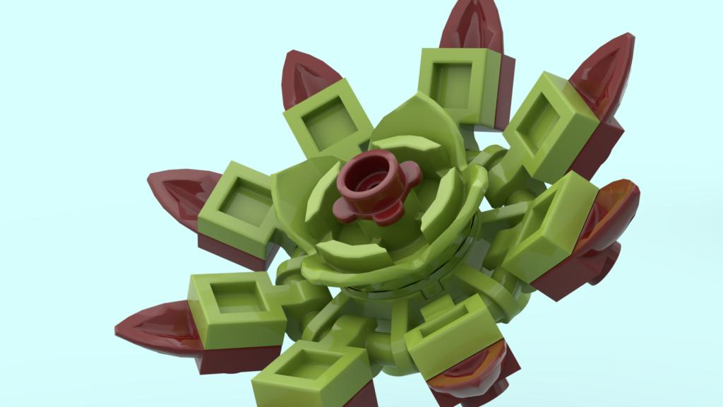 LEGO Ideas Succulent Garden 4