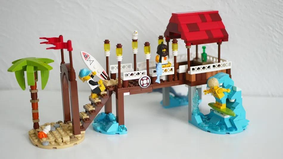 LEGO Ideas Surf Pier