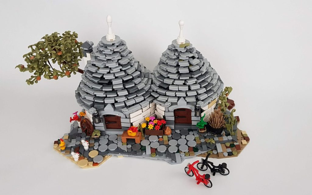 LEGO Ideas THE TRULLI OF ALBEROBELLO 1 1