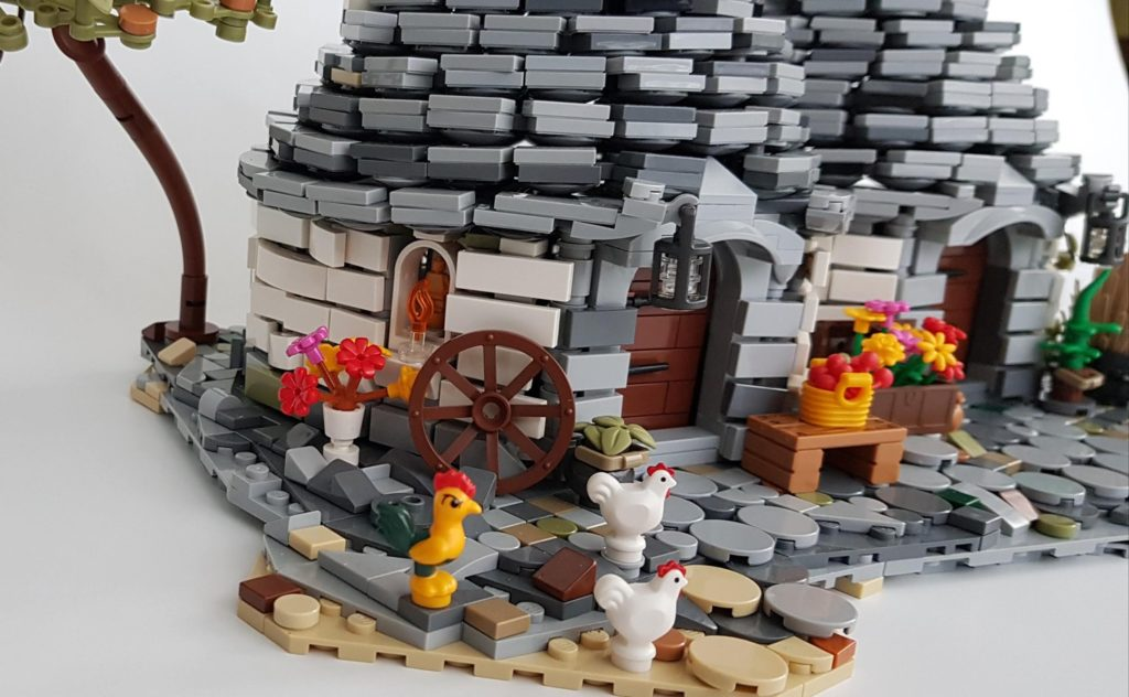 LEGO Ideas THE TRULLI OF ALBEROBELLO 3