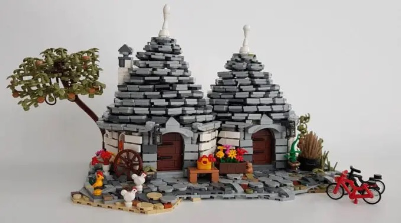 LEGO Ideas THE TRULLI OF ALBEROBELLO Featured