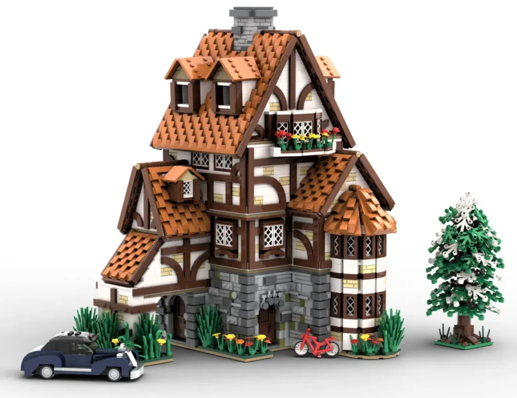 LEGO Ideas TRADITIONAL GERMAN COTTAGE 2