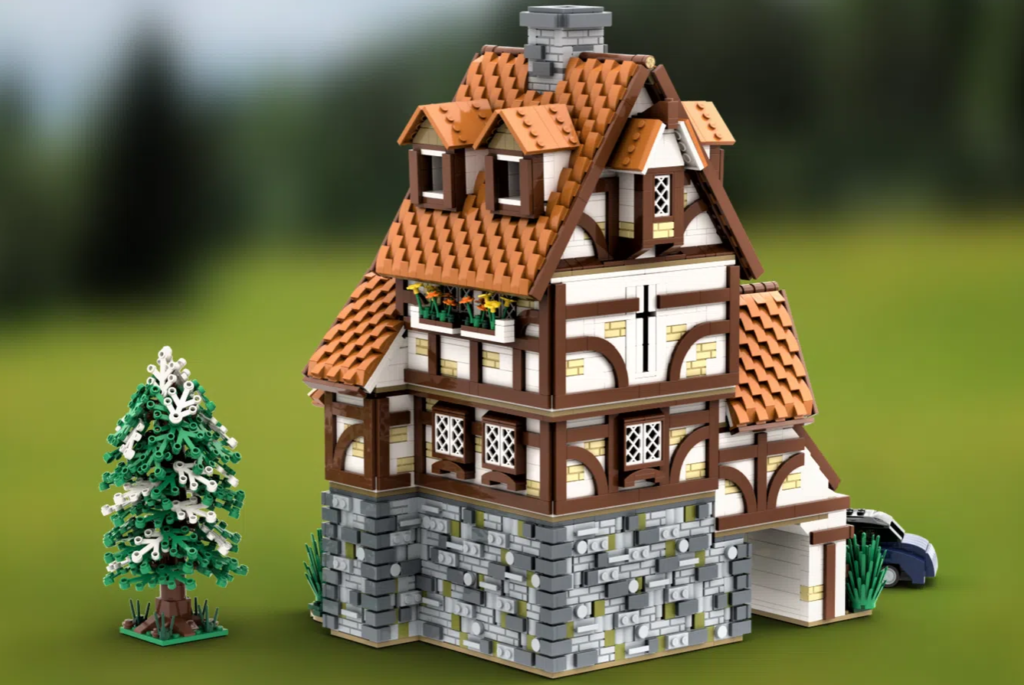 LEGO Ideas TRADITIONAL GERMAN COTTAGE 3