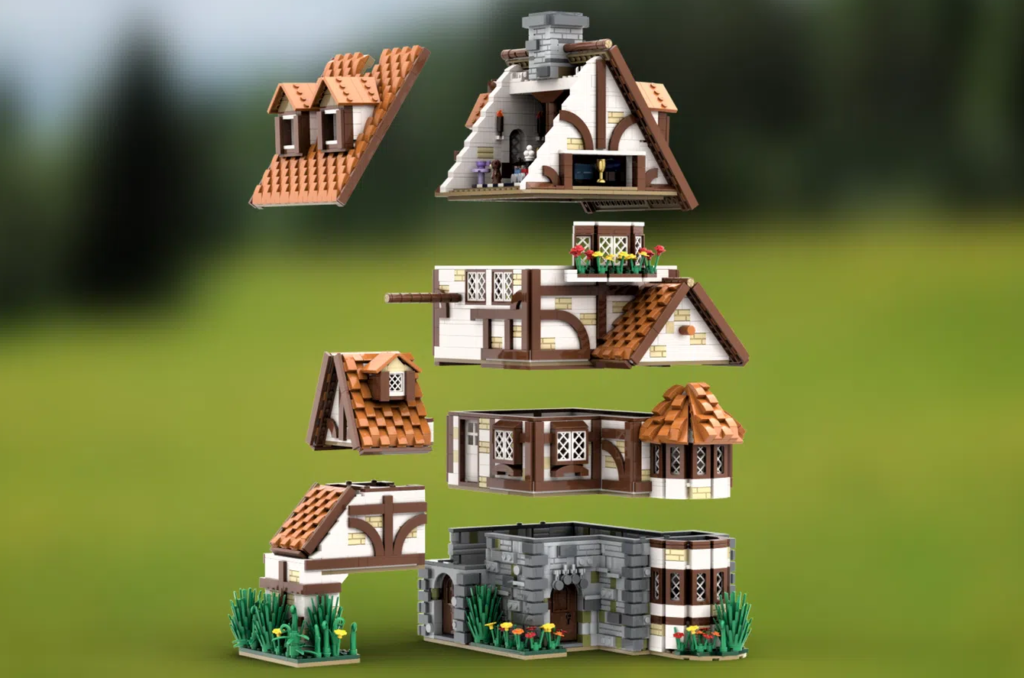 LEGO Ideas TRADITIONAL GERMAN COTTAGE 4
