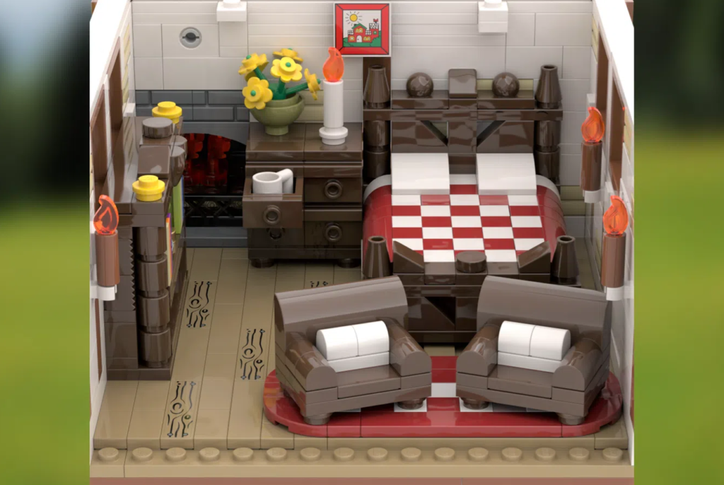 LEGO Ideas TRADITIONAL GERMAN COTTAGE 5