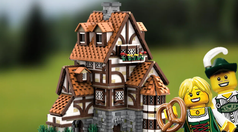 LEGO Ideas TRADITIONAL GERMAN COTTAGE Featured