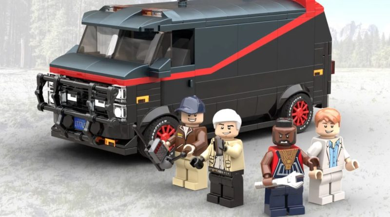 LEGO Ideas The A Team Van and Crew featured