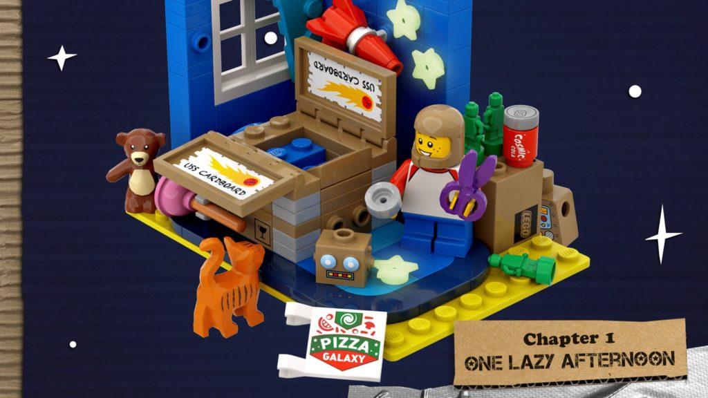 LEGO Ideas The Adventures Of The USS Cardboard 2
