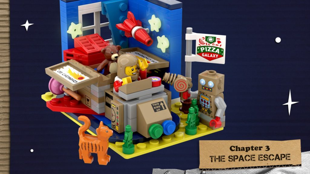 LEGO Ideas The Adventures Of The USS Cardboard 4