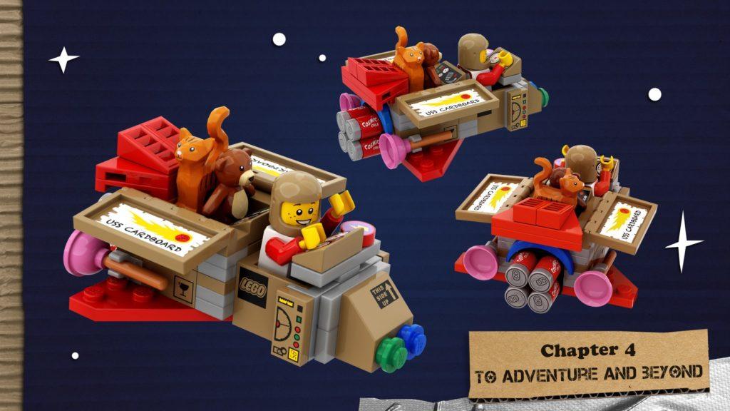 LEGO Ideas The Adventures Of The USS Cardboard 5