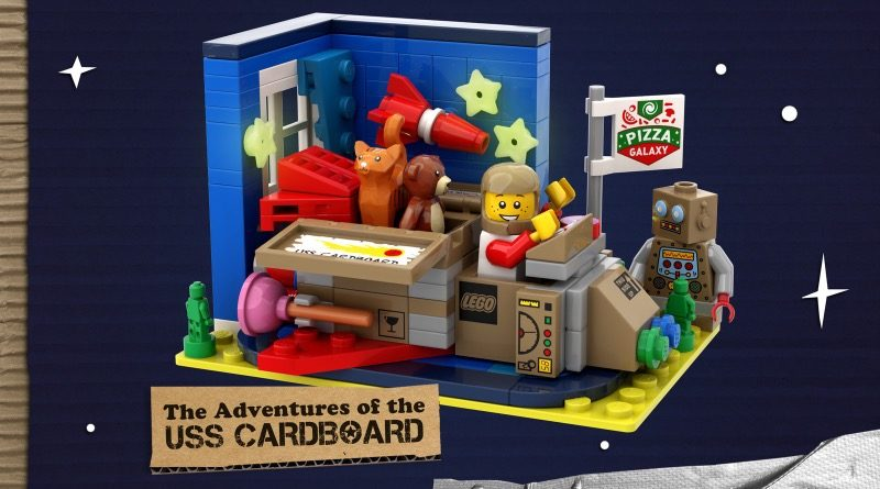 LEGO Ideas The Adventures Of The USS Cardboard Featured 800x445