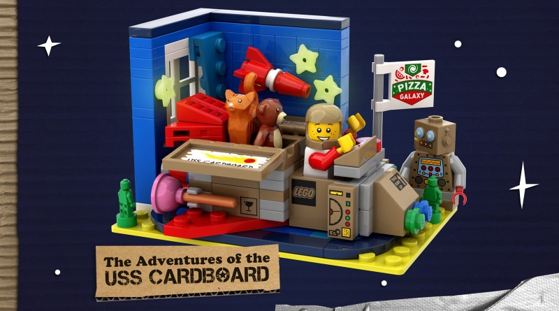 LEGO Ideas The Adventures Of The USS Cardboard Featured