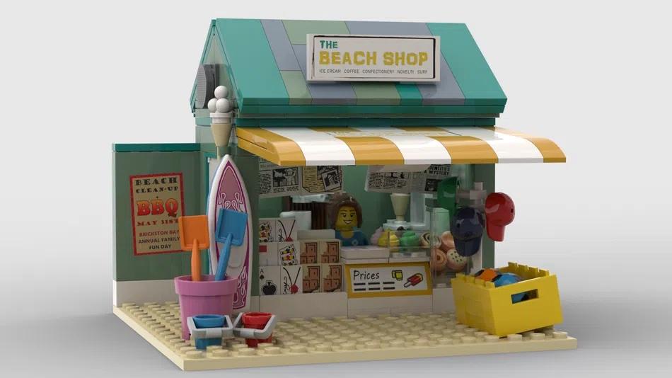 LEGO Ideas The Beach Shop