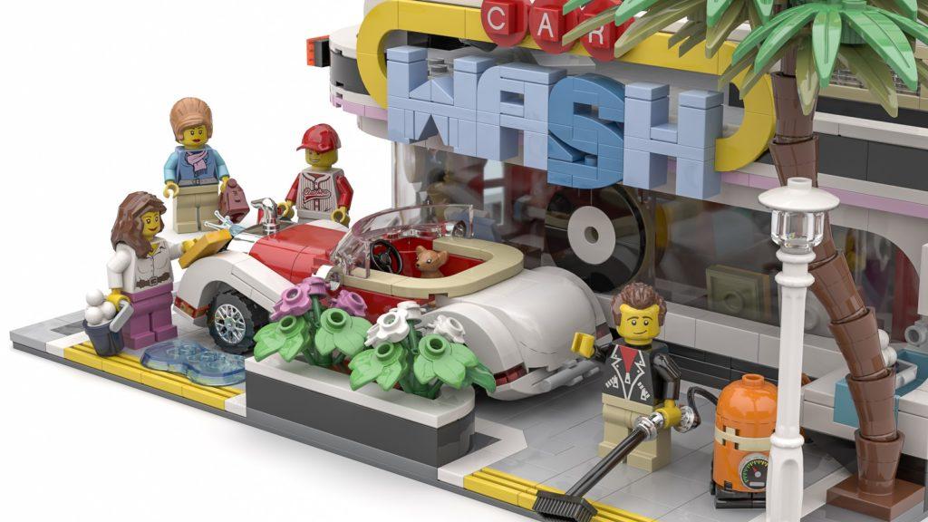 LEGO Ideas The Car Wash 3