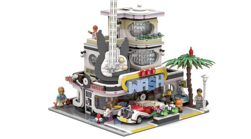 LEGO Ideas The Car Wash Featured