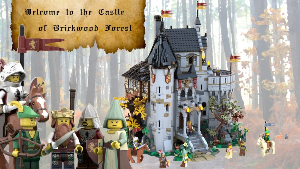 LEGO Ideas The Castle Of Brickwood Forest 1